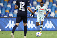Victor Osimhen of SSC Napoli<br /> during the friendly football match between SSC Napoli and Pescara Calcio 1936 at stadio San Paolo in Napoli, Italy, September 11, 2020. <br /> Photo Cesare Purini / Insidefoto