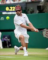25-06-10, Tennis, England, Wimbledon, Arnaud Clement