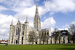 The Salisbury Cathedral photographed April 4,2004.(Dave Rossman/Special to the Chronicle)