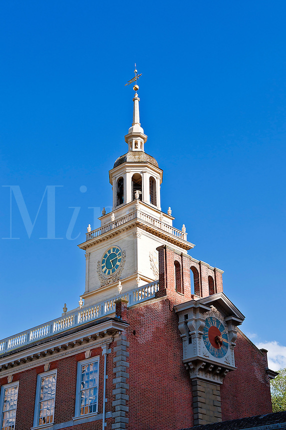 Independence Hall is a U.S. national landmark located in Philadelphia, Pennsylvania