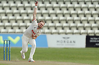 Sam Cook of Essex in bowling action during Worcestershire CCC vs Essex CCC, LV Insurance County Championship Group 1 Cricket at New Road on 30th April 2021
