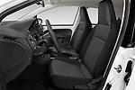 Front seat view of a 2020 Skoda Citigo e iV Ambition 5 Door Hatchback front seat car photos