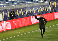 20th November 2020, Nashville, TN, USA;  Nashville SC head coach Gary Smith celebrates with the crowd following their 3-0 win in a MLS Cup Playoffs Eastern Conference Play-In game between Nashville SC and Inter Miami, November 20, 2020 at Nissan Stadium