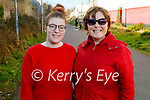 Ciara and Elizabeth Elton enjoying a stroll on the Tralee Greenway on Sunday.