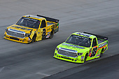 NASCAR Camping World Truck Series<br /> Bar Harbor 200<br /> Dover International Speedway, Dover, DE USA<br /> Friday 2 June 2017<br /> Matt Crafton, Ideal Door / Menards Toyota Tundra, Cody Coughlin, JEGS Toyota Tundra<br /> World Copyright: John K Harrelson<br /> LAT Images<br /> ref: Digital Image 17DOV1jh_03505