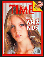 Time cover, actress Diane Lane, August 13, 1979. Photo by John G. Zimmerman.