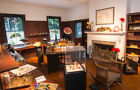 Thomas Edison & Mina inventor home and museum in Ft Myers Florida office study room
