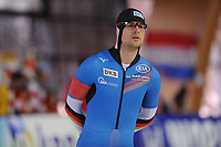 SPEEDSKATING: ERFURT: 19-01-2018, ISU World Cup, 500m Men B Division, Joel Dufter (GER), photo: Martin de Jong