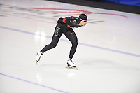 SPEEDSKATING: CALGARY: Olympic Oval, 02-03-2019, ISU World Allround Speed Skating Championships, 5000m Men, Jordan Belchos (CAN), ©Fotopersburo Martin de Jong
