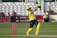 Liam Dawson in batting action for Hampshire during Essex Eagles vs Hampshire Hawks, Vitality Blast T20 Cricket at The Cloudfm County Ground on 11th June 2021
