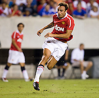 Dimitar Berbatov. Manchester United defeated Philadelphia Union, 1-0.