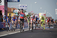 Giro d'Italia stage 13.Savano-Cervere: 121km..3x stage winner: Mark Cavendish