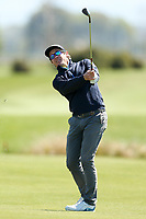 Brad Shilton. Jennian Homes Charles Tour, Pegasus Open, Christchurch, New Zealand, Friday 4 October 2019. Photo Martin Hunter/www.bwmedia.co.nz