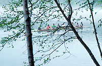 Sculling on Connecticut River Hanover NH