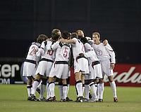 USA team, Panama vs USA, World Cup qualifier at RFK Stadium, 2004.
