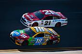 2017 NASCAR Monster Energy Cup - Daytona 500<br /> Daytona International Speedway, Daytona Beach, FL USA<br /> Sunday 26 February 2017<br /> Kyle Busch, M&M's Toyota Camry<br /> World Copyright: Barry Cantrell/LAT Images<br /> ref: Digital Image 17DAY2bc3784