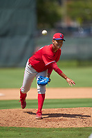 Philadelphia Phillies pitcher Chi-Ling Hsu (78) during an Extended Spring Training game against the Toronto Blue Jays on June 12, 2021 at the Carpenter Complex in Clearwater, Florida. (Mike Janes/Four Seam Images)