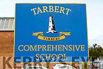 General view of Tarbert Comprehensive school on Wednesday.