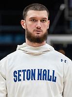 WASHINGTON, DC - FEBRUARY 05: Sandro Mamukelashvili #23 of Seton Hall during a game between Seton Hall and Georgetown at Capital One Arena on February 05, 2020 in Washington, DC.