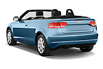 Rear three quarter view of a 2003 - 2012 Audi A3 Attraction 2-Door Convertible.