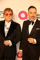 Elton John David Furnish 11/5/2018<br /> 17th annual AIDS Foundation Benefit<br /> Photo by John Barrett/PHOTOlink
