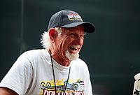 Sep 27, 2020; Gainesville, Florida, USA; NHRA former top fuel dragster driver Don Garlits in attendance during the Gatornationals at Gainesville Raceway. Mandatory Credit: Mark J. Rebilas-USA TODAY Sports