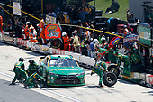 NASCAR XFINITY Series<br /> One Main Financial 200<br /> Dover International Speedway, Dover, DE USA<br /> Saturday 3 June 2017<br /> Daniel Suarez, Subway Toyota Camry pit stop<br /> World Copyright: Matthew T. Thacker<br /> LAT Images