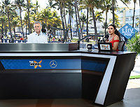 MIAMI BEACH, FL - JANUARY 29: The Herd with Colin Cowherd at the Fox Sports South Beach studio during Super Bowl LIV week on January 29, 2020 in Miami Beach, Florida. (Photo by Frank Micelotta/Fox Sports/PictureGroup)