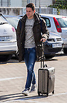 Spainsh Ander Herrera arriving at the concentration of the spanish national football team in the city of football of Las Rozas in Madrid, Spain. November 08, 2016. (ALTERPHOTOS/Rodrigo Jimenez)