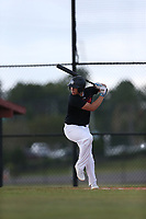 Tyler Callihan (61) of Providence High School in Neptune Beach, Florida during the Under Armour Baseball Factory National Showcase, Florida, presented by Baseball Factory on June 12, 2018 the Joe DiMaggio Sports Complex in Clearwater, Florida.  (Nathan Ray/Four Seam Images)