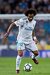 Marcelo Vieira Da Silva of Real Madrid in action during the La Liga 2017-18 match between Real Madrid and SD Eibar at Estadio Santiago Bernabeu on 22 October 2017 in Madrid, Spain. Photo by Diego Gonzalez / Power Sport Images
