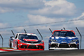 #18: Jack Hawksworth, Joe Gibbs Racing, Toyota Supra iK9 and #20: Christopher Bell, Joe Gibbs Racing, Toyota Supra Rheem
