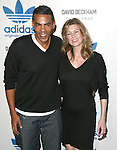 Ellen Pompeo & husband Christopher Ivery at the launch of the adidas Originals by Originals David Beckham on Melrose Avenue in Los Angeles, California on September 30,2009                                                                   Copyright 2009 DVS / RockinExposures
