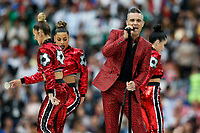 Robbie Williams performs before the 2018 FIFA World Cup Group A match between Russia and Saudi Arabia at Luzhniki Stadium on June 14th 2018 in Moscow, Russia.  <br /> Moscow 13-06-2018 Football FIFA World Cup Russia  2018 <br /> Open Ceremony <br /> Foto Daniel Chesterton/Phc/Panoramic/Insidefoto