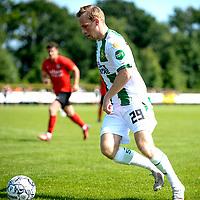 LEEK - Voetbal, Pelikaan S - FC Groningen , voorbereiding seizoen 2021-2022, oefenduel, 03-07-2021, FC Groningen speler Romano Postema