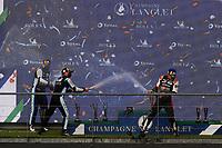 #8 TOYOTA GAZOO RACING (JPN) - TOYOTA GR010 HYPERCAR- SEBASTIEN BUEMI (CHE) / KAZUKI NAKAJIMA (JPN) / BRENDON HARTLEY (NZL)<br /> #36 ALPINE ELF MATMUT (FRA) - ALPINE A480 – GIBSON HYPERCAR - ANDRE NEGRAO (BRA) / MATTHIEU VAXIVIERE (FRA) / NICOLAS LAPIERRE (FRA)<br /> #7 TOYOTA GAZOO RACING (JPN) - TOYOTA GR010 HYPERCAR- MIKE CONWAY (GBR) / KAMUI KOBAYASHI (JPN) / JOSE MARIA LOPEZ (ARG)