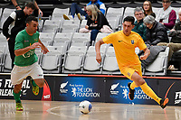 Rahan Ali of Southern during the Men's Futsal SuperLeague, Central Futsal v Southern United Futsal at ASB Sports Centre, Wellington on Saturday 31 October 2020.<br /> Copyright photo: Masanori Udagawa /  www.photosport.nz