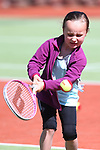 NELSON, NEW ZEALAND - SEPTEMBER 23: Liliaha Perrett at the Open Day Tennis on September 23 2017 in Nelson, New Zealand. (Photo by: Evan Barnes Shuttersport Limited)