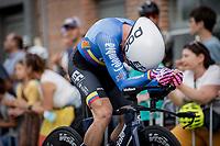 Rigoberto Uran (COL/EF Education-Nippo) <br /> <br /> 88th UCI Road World Championships 2021 – ITT (WC)<br /> Men's Elite Time trial from Knokke-Heist to Brugge (43.3km)<br /> <br /> ©Kramon