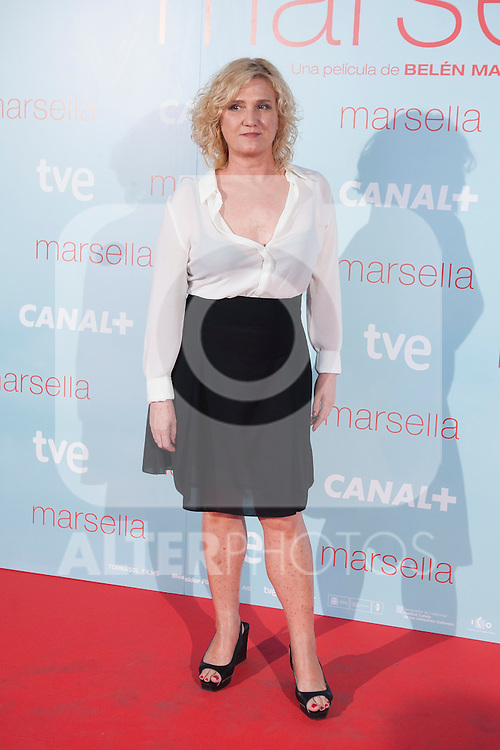 poses at `Marsella´ film premiere photocall at Capital cinema in Madrid, Spain. July 17, 2014. (ALTERPHOTOS/Victor Blanco)
