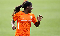 Portland, OR - Wednesday March 14, 2018: Nichelle Prince during a National Women's Soccer League (NWSL) pre season match between the Houston Dash and the Chicago Red Stars at Merlo Field.