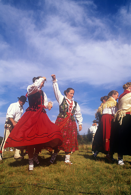 Folklore Celebration, Zawoya, Poland