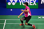 Su Yu Chen of Chinese Taipei in action while playing against Xiaoyu Liang of Singapore during the YONEX-SUNRISE Hong Kong Open Badminton Championships 2016 at the Hong Kong Coliseum on 23 November 2016 in Hong Kong, China. Photo by Marcio Rodrigo Machado / Power Sport Images