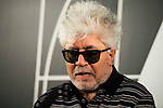 Spanish director Pedro Almodovar after the reading of the selected movie to represent Spain at the Oscars for Julieta in Madrid. September 07, 2016. (ALTERPHOTOS/Borja B.Hojas)