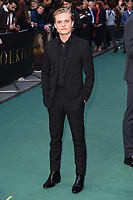"Tom Glynn-Carney<br /> arriving for the ""TOLKIEN"" premiere at the Curzon Mayfair, London<br /> <br /> ©Ash Knotek  D3499  29/04/2019"