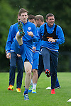 St Johnstone Training…22.07.16<br />Blair Alston and Tam Scobbie pictured during training this morning at McDiarmid Park ahead of tomorrows Betfred Cup game against their former team Falkirk.<br />Picture by Graeme Hart.<br />Copyright Perthshire Picture Agency<br />Tel: 01738 623350  Mobile: 07990 594431