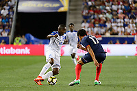 Harrison, NJ - Friday July 07, 2017:  during a 2017 CONCACAF Gold Cup Group A match between the men's national teams of Honduras (HON) vs Costa Rica (CRC) at Red Bull Arena.