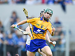 Conor Hegarty of Clare  in action against Sean Henley of Waterford during their Munster  championship round robin game at Cusack Park Photograph by John Kelly.