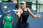 August 04, 2017: Garbine Muguruza (ESP)  defeated Ana Konjuh (CRO) 6-1, 6-3 at the Bank of the West Classic being played at the Taube Tennis Stadium in Stanford, California. ©Mal Taam/TennisClix/CSM