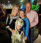Ashley and Chapman Mannschreck with Campbell,10, and Colt,5,  at the Little Galleria Halloween Spooktacular presented by MD Anderson Children's Cancer Hospital at The Galleria Sunday Oct. 30,2016.(Dave Rossman photo)
